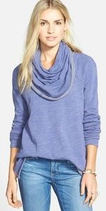 Free People Beach Cocoon Cowl Neck Pullover NWT